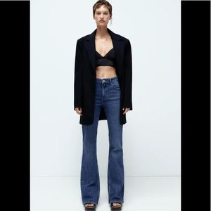 Zara Premium Collection Flare Jeans 4